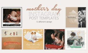 Mother's Day Instagram Templates 3698983