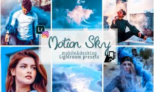 Motion sky presets mobile pc instagram