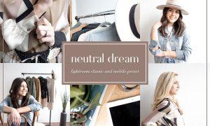 Neutral dream lightroom preset 3651332