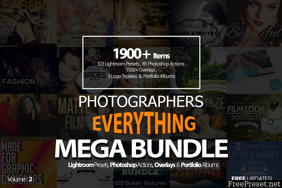 Photographers Everything Mega Bundle - CM 513263
