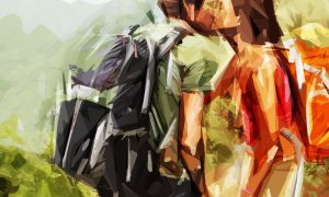 Polygonal Sketch Art PS Action 22596007