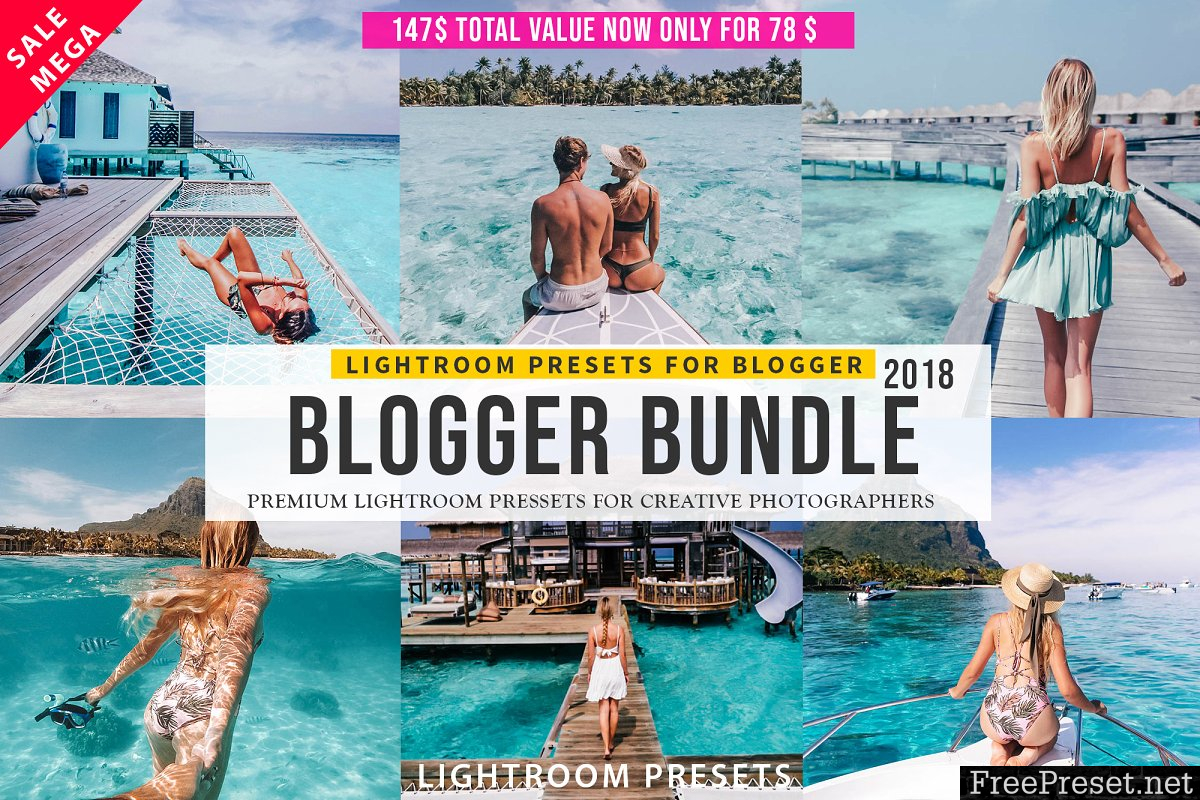 Pro Blogger Lightroom Presets Bundle 2840552