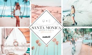 Santa Monica Summer Lightroom Preset 3713835