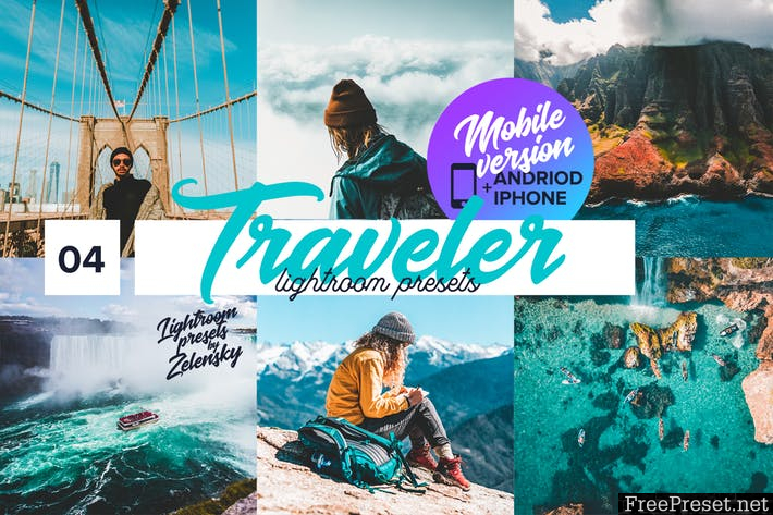 Traveler mobile Lightroom Presets GGSZY6