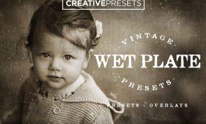 Wet Plate Lightroom Presets+Overlay 2586915