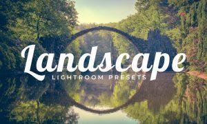 100 Landscape Lightroom Presets Pack 6P9UNX