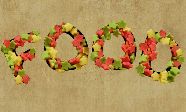 How to Create a Stars Candy Text Effect in Adobe Photoshop 25