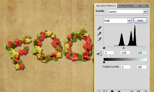 How to Create a Stars Candy Text Effect in Adobe Photoshop 41