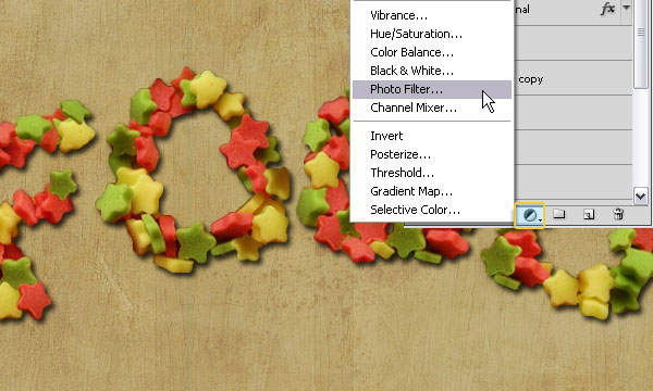 How to Create a Stars Candy Text Effect in Adobe Photoshop 37