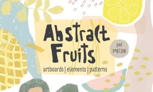 Abstract Fruits Collection 1453399