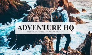 Adventure HQ Mobile & Desktop Lightroom Presets