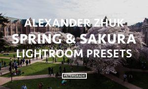 Alexander Zhuk Spring & Sakura Lightroom Presets