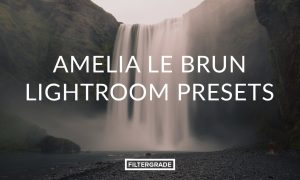 Amelia Le Brun Lightroom Presets