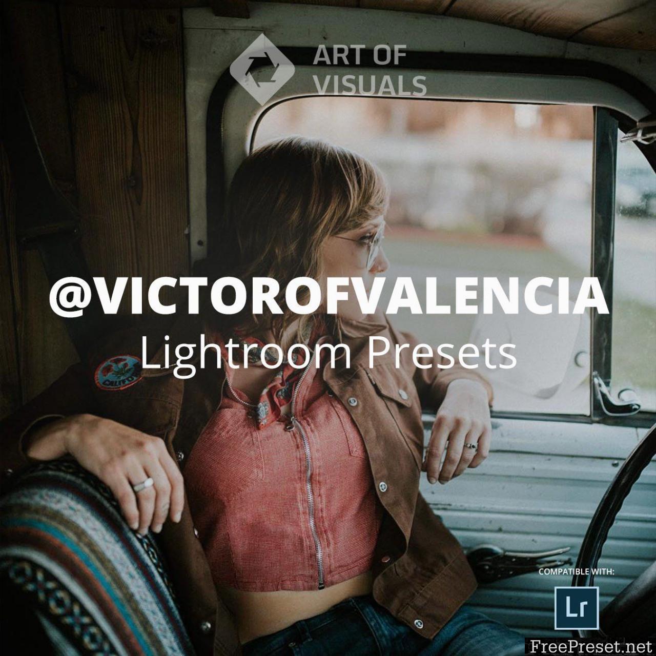 AOV X Victor of Valencia Lightroom Presets/Adobe Camera Raw