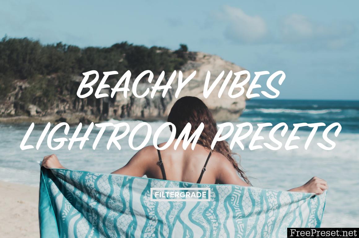 Beachy Vibes Lightroom Presets