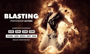 Blasting Photoshop Action FKBWSQ