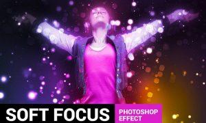 Brightum - Soft Focus Photoshop Action - 84CR5D