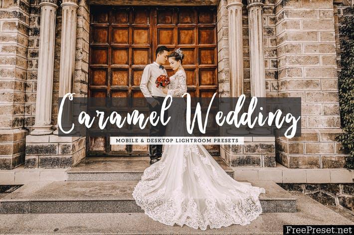 Caramel Wedding Mobile & Desktop Lightroom Presets