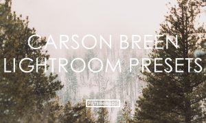 Carson Breen Lightroom Presets
