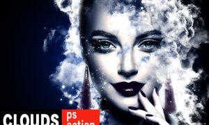Clouds Exposure Photoshop Action GC68D9