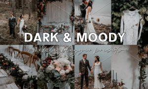 Dark Moody Blogger Lightroom Presets 3787371