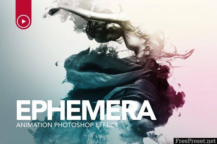 Ephemera Animation Photoshop Action 7M2GF5