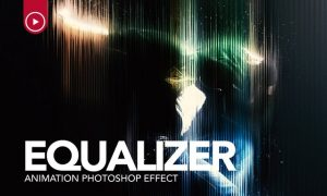 Equaliser Animation Photoshop Action QAAQAJ