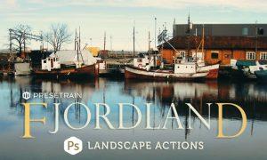 Fjordland Landscape Photoshop Actions CP3K2B