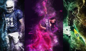 Fracture Photoshop Action - DU9TRN