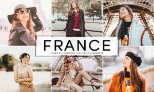 France Mobile & Desktop Lightroom Presets WAF5G6M