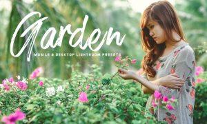 Garden Mobile Lightroom Presets RJCDDJ