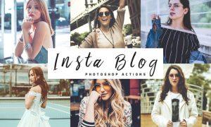 Insta Blog Photoshop Actions 65LPNE