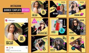 Instagram Fashion Promo Pack V991 3618361