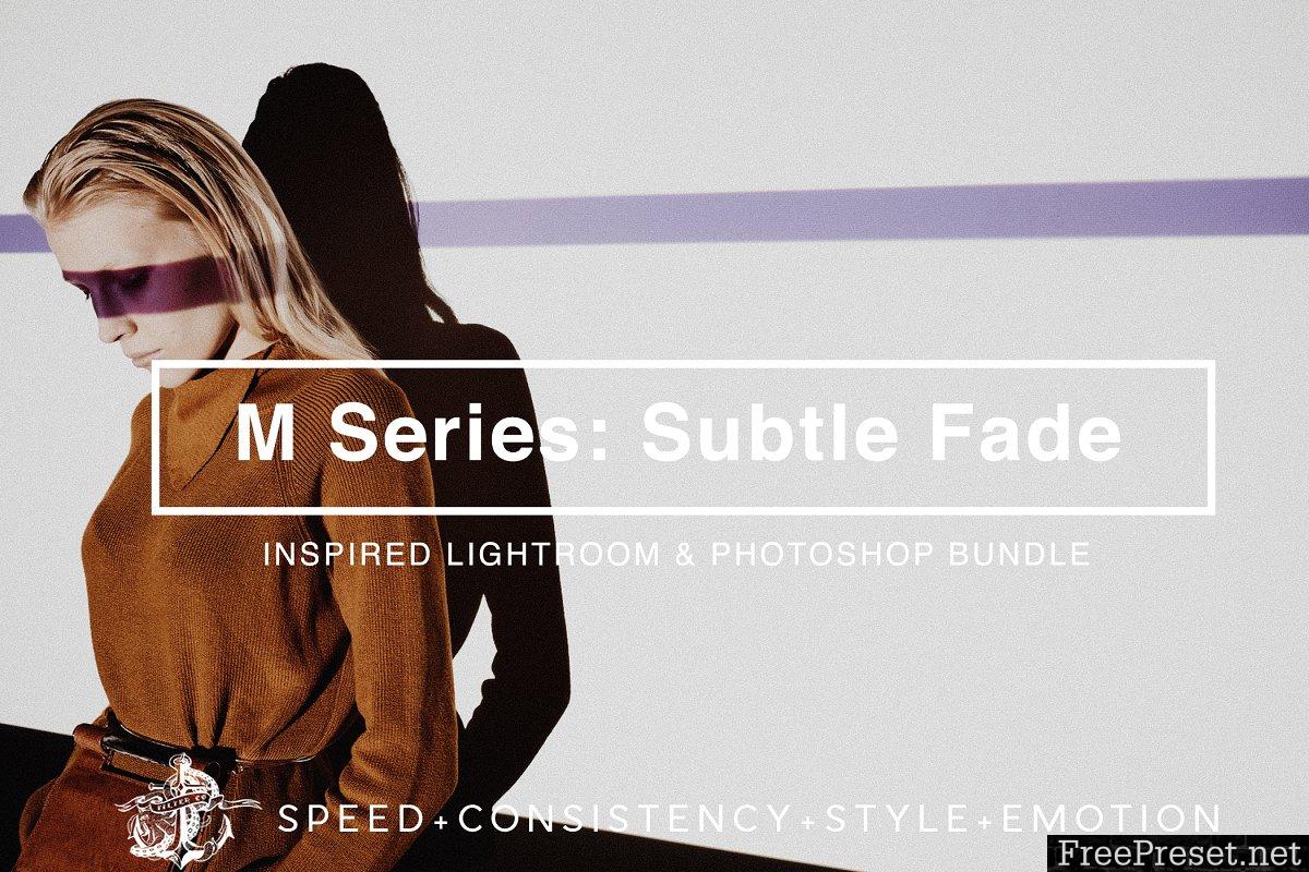 M Series: Subtle Fade LR//PS Presets 2269439