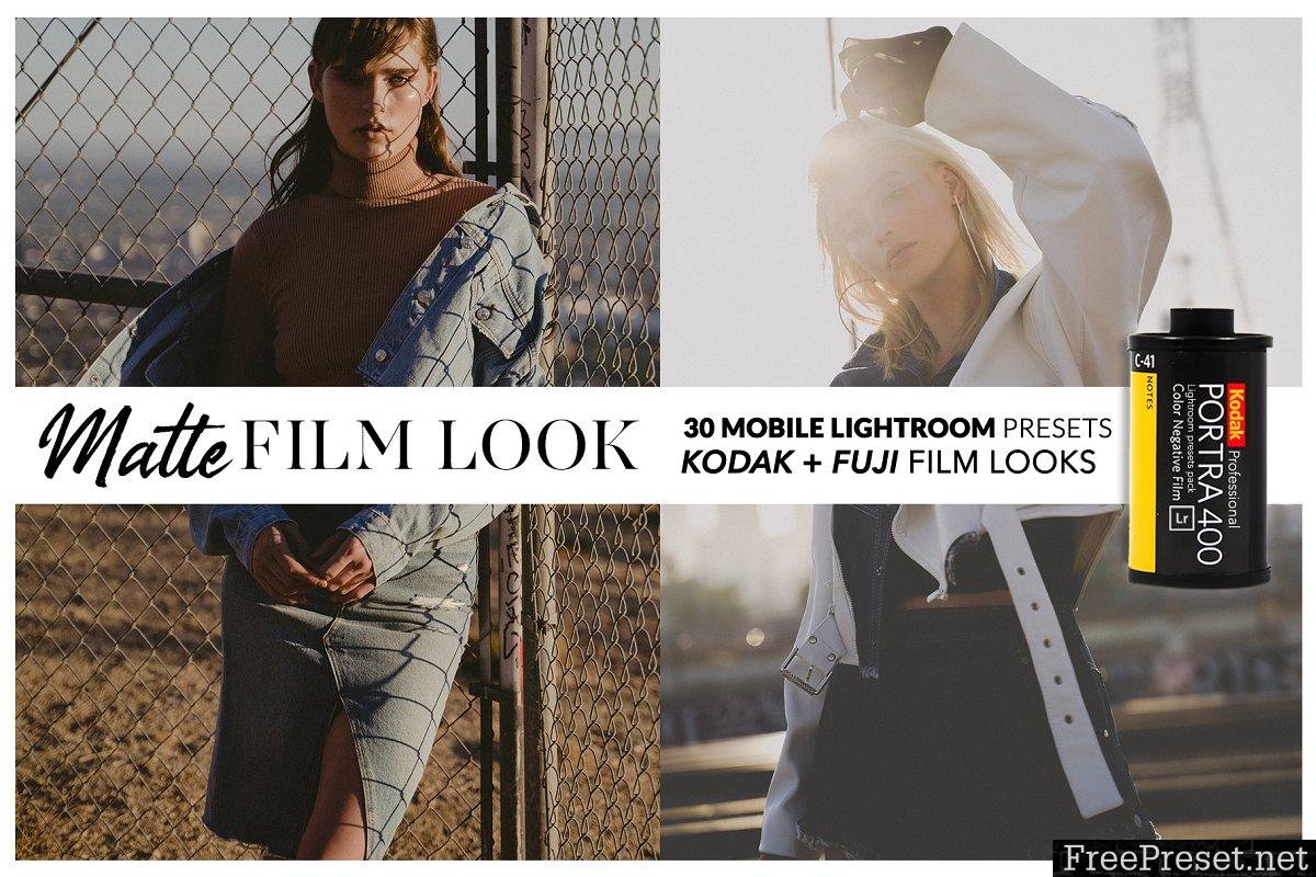 MATTE FILM Mobile Lightroom Presets 3702658