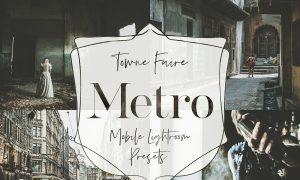 Metro - Mobile Lightroom Presets 3761971