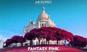 MicroPro Fantasy Pink Photoshop Action FQA3U2