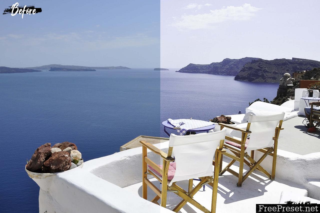 Neo Santorini Desktop Lightroom Presets