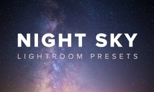 Night Sky Lightroom Presets - WSMAZ3