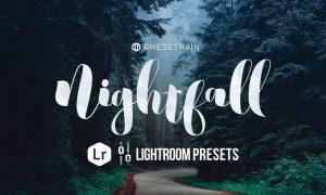 Nightfall Dark Lightroom Presets QHQTHF
