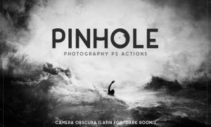 Pinhole Photography Ps Actions - 2QALUK