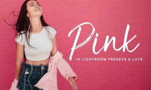 Pink Lightroom Presets and LUTs 2386422