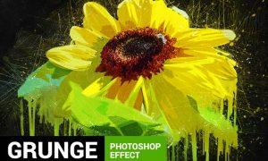 Posterum - Grunge Painting Photoshop Action J4N477