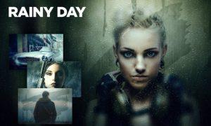 Rainy Day CS4+ Photoshop Action PMHQR3J