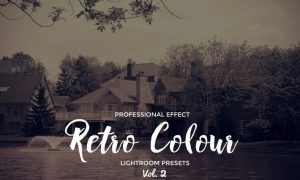 Retro Colour Lightroom Vol. 2 NUSCBB