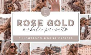 Rose Gold Mobile Presets 3658760