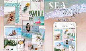 SEA - Instagram Puzzle 3690263