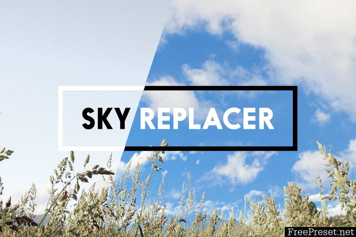 Sky Replacer Photoshop Actions FH9HP3