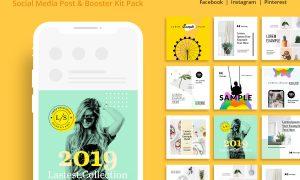 Social Media Posting & Booster Kit 3717890