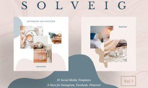 Solveig Social Media Pack Vol. 1 3G9BR8W